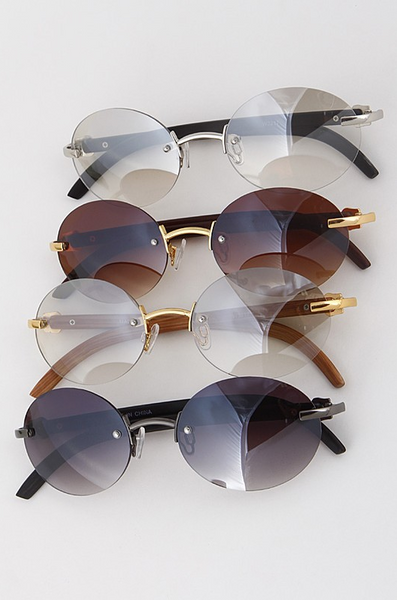 Vintage Oval Sunglasses - House of W