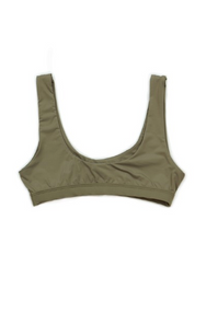 Bra Top - Olive Drab - House of W