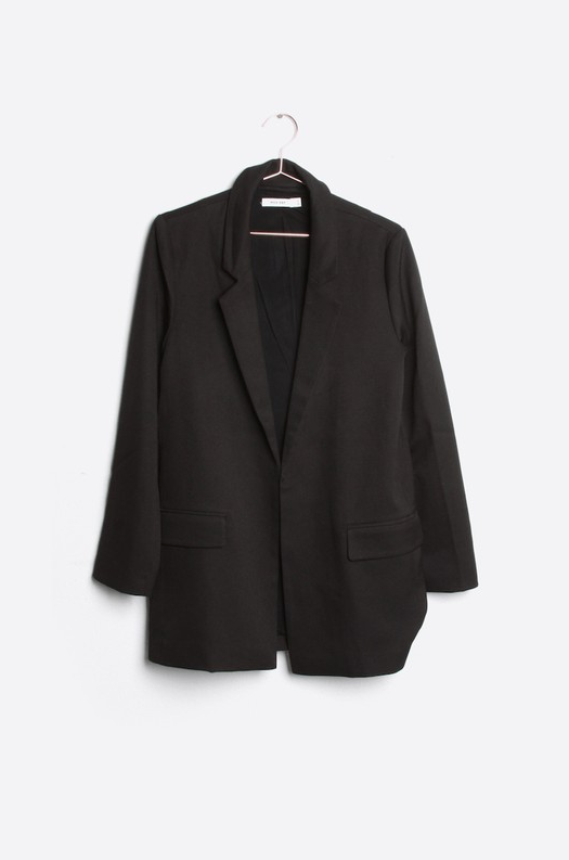 Poppy Blazer - Black - House of W