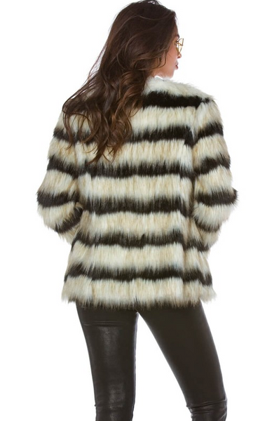 Aspen Faux Fur Coat