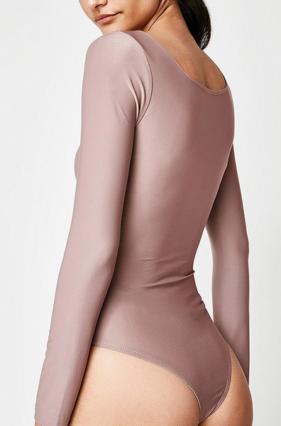 The Hills Bodysuit - Taupe - House of W