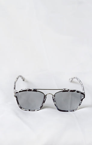 Allure White Marble Sunglasses - House of W - 1