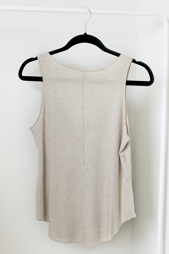 Beige Me Tank - House of W