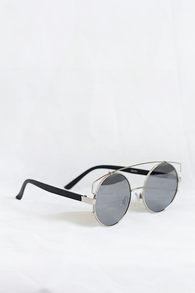 Boho Silver Sunglasses - Silver Lenses - House of W