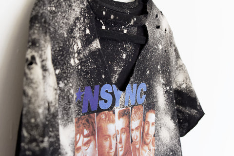 Distressed + Bleached *NSYNC Tee - House of W