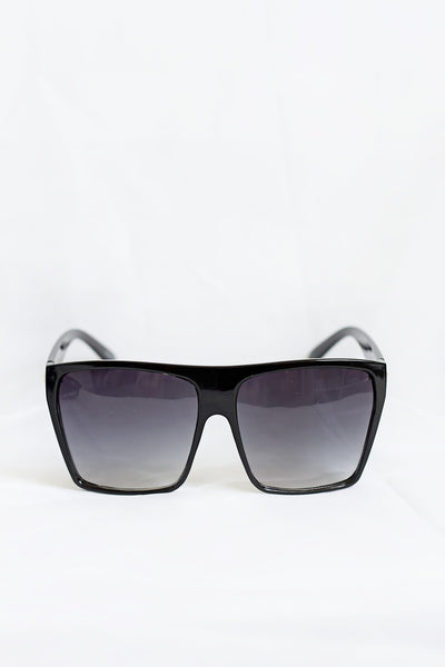 Diva Glossy Black Sunglasses - House of W