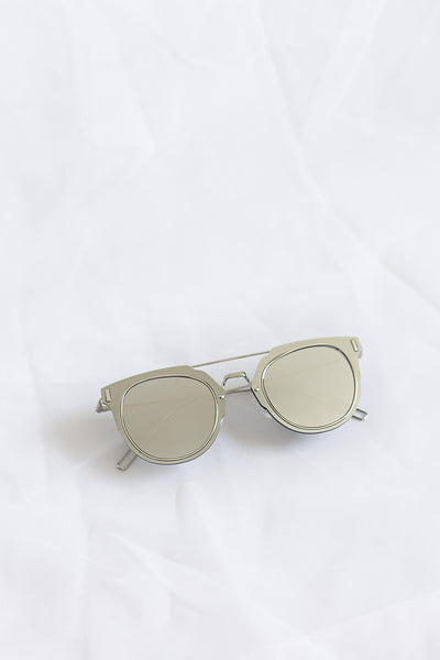 Fame Silver Sunglasses - House of W