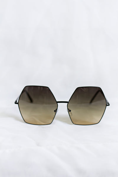 Free Spirit Black/Tan Sunglasses - House of W