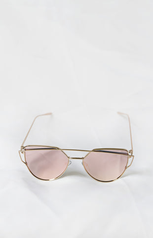 Glamour Pink Sunglasses - House of W - 1