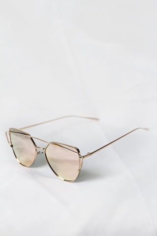 Glamour Pink Sunglasses - House of W