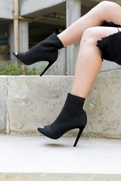Slay Black Bootie - House of W