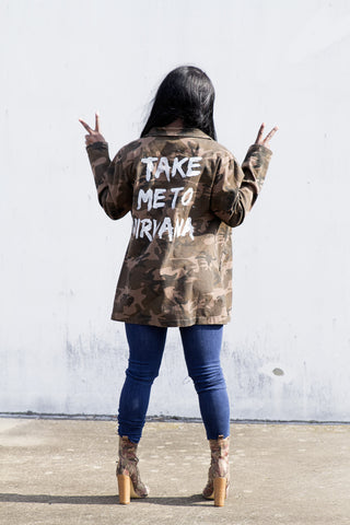 Take Me To Nirvana Jacket - House of W