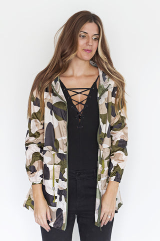 Light Weight Camo Jacket - House of W