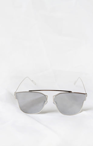 Lux Silver Sunglasses - House of W - 1