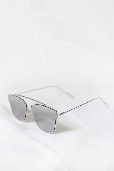 Lux Silver Sunglasses - House of W