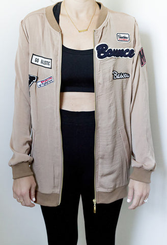 Patch it Bomber Jacket - House of W - 1