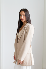 Poppy Blazer - Tan - House of W
