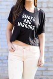 Smoke and Mirrors Crop Tee - House of W