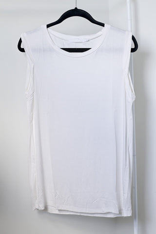 Basic White Tank - House of W