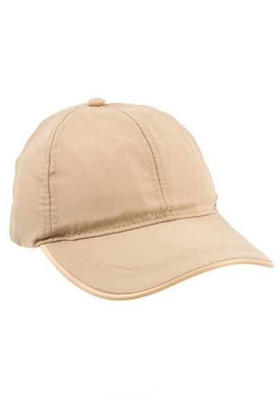 Nylon Tan Baseball Cap - House of W