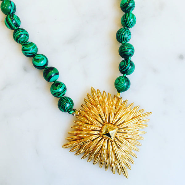 Malachite Pleats