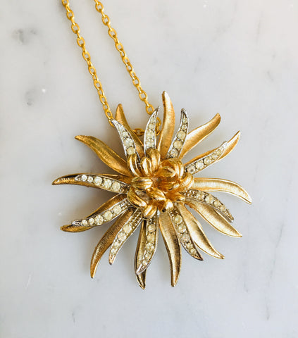 Silver and Gold Flower
