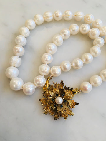 Baroque Pearls and Flower