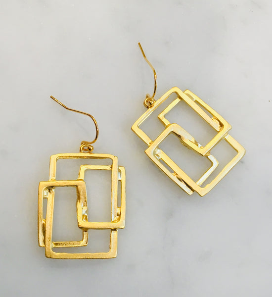 Multi Rectangle 22ct
