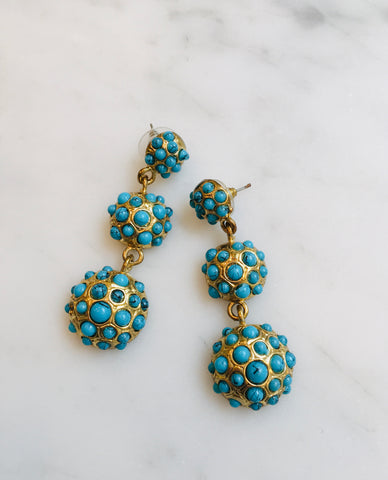 Tiered Turquoise Drops