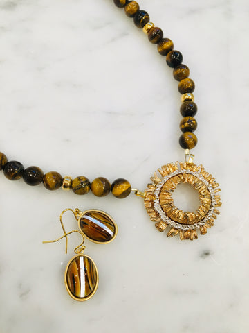 Abstract Tiger Eye