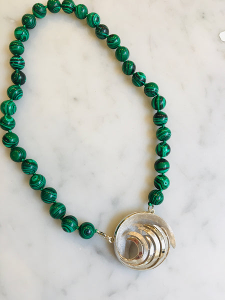 Abstract Malachite