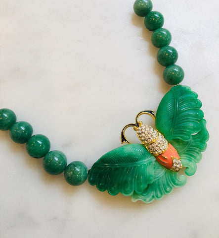 Moth in Jade