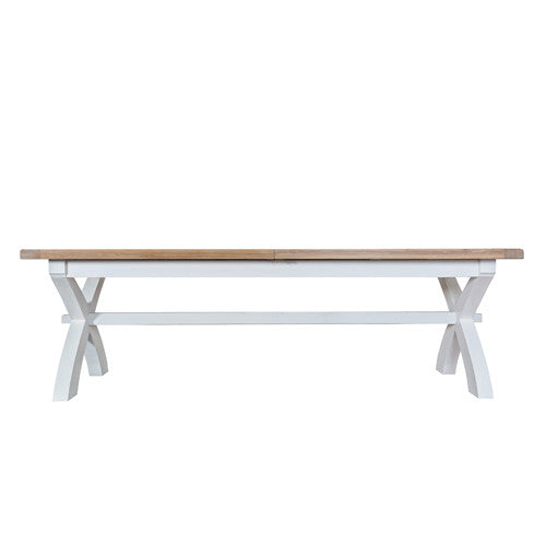 Swell Ambleside Cross Leg Extending Dining Table 2 5M Always A Squirreltailoven Fun Painted Chair Ideas Images Squirreltailovenorg