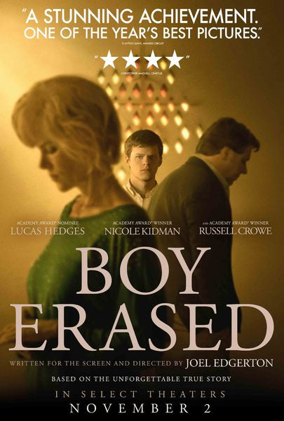 Film Review: Boy Erased (2018) - USA / Australia