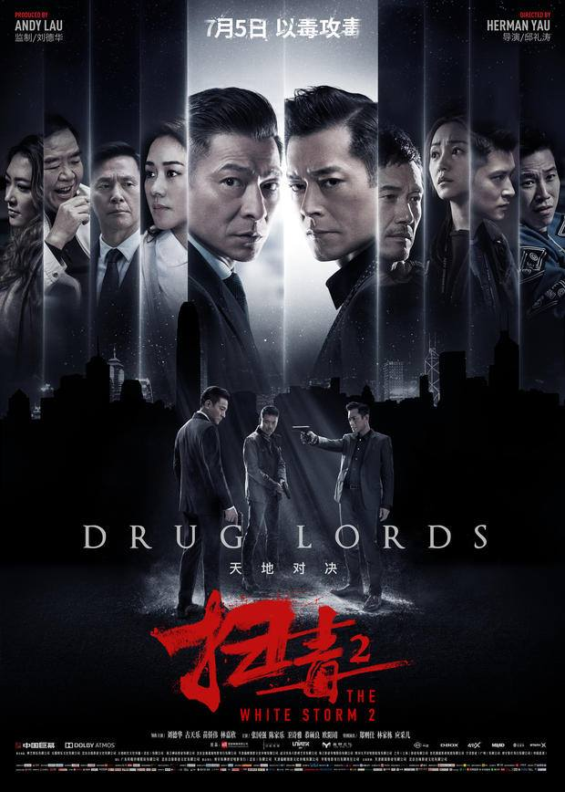 Film Review: The White Storm 2 - Drug Lords 掃毒2天地對決 (2019) - Hong Kong / China
