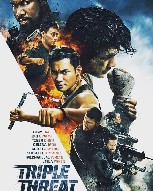 Film Review: Triple Threat (2019) - USA / China
