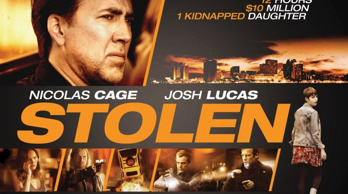 Film Review: Stolen (2012) - USA