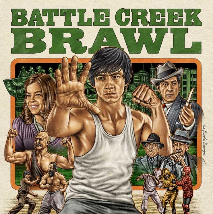 Film Review: Battle Creek Brawl (The Big Brawl) 殺手壕 (1980) - USA / Hong Kong