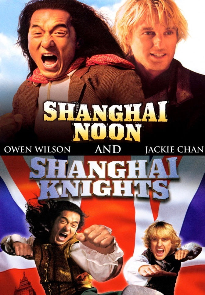 Film Review: Shanghai Noon (2000) & Shanghai Knights (2003) - USA