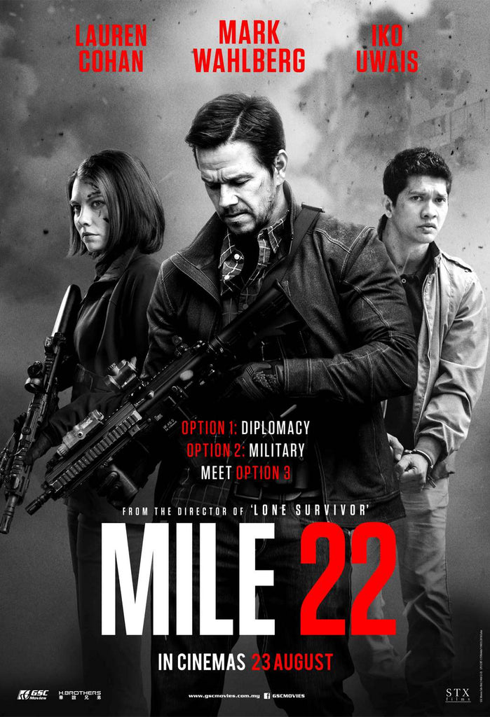 Film Review: Mile 22 絕地22哩 (2018) - USA