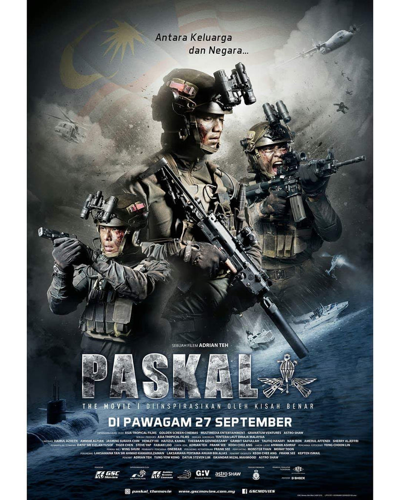 Film Review: Paskal: The Movie (2018) - Malaysia (Netflix)