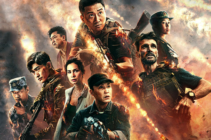 Film Review: Wolf Warrior 2 (2017) - China