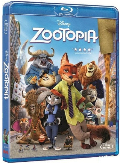 Zootopia 優獸大都會 (2016) (Blu Ray) (English Subtitled) (Hong Kong Version) - Neo Film Shop - 1