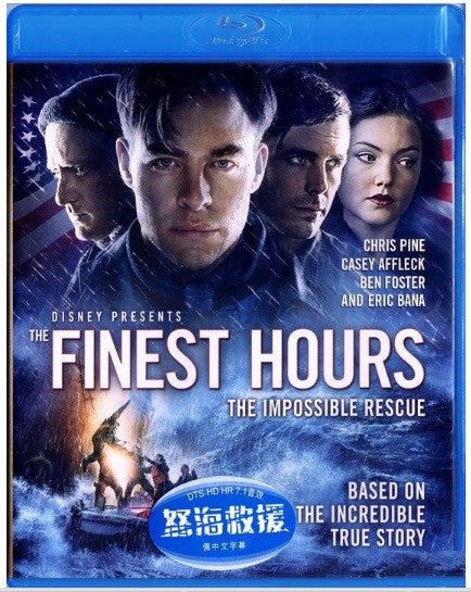 The Finest Hours 怒海救援 (2016) (Blu Ray) (English Subtitled) (Hong Kong Version) - Neo Film Shop