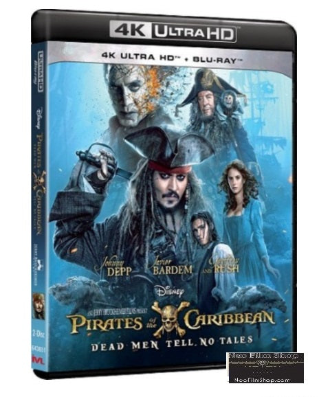Pirates of the Caribbean: Dead Men Tell No Tales (2017) (4K Ultra HD + Blu Ray) (English Subtitled) (Hong Kong Version) - Neo Film Shop