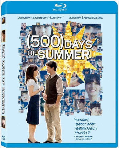 500 Days Of Summer 心跳500天 (2009) (Blu Ray) (English Subtitled) (Hong Kong Version)