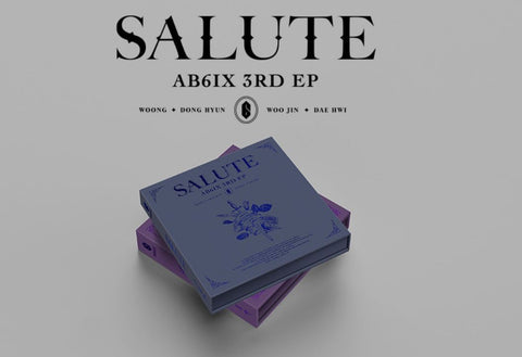 AB6IX EP Album Vol. 3 - SALUTE (Random Version) (Korea Edition)