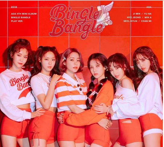 AOA Mini Album Vol. 5 - Bingle Bangle (Play Edition) (CD) (Korea Version) - Neo Film Shop