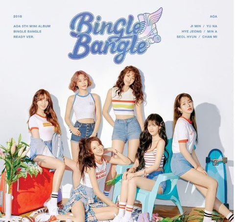 AOA Mini Album Vol. 5 - Bingle Bangle (Ready Edition) (CD) (Korea Version) - Neo Film Shop