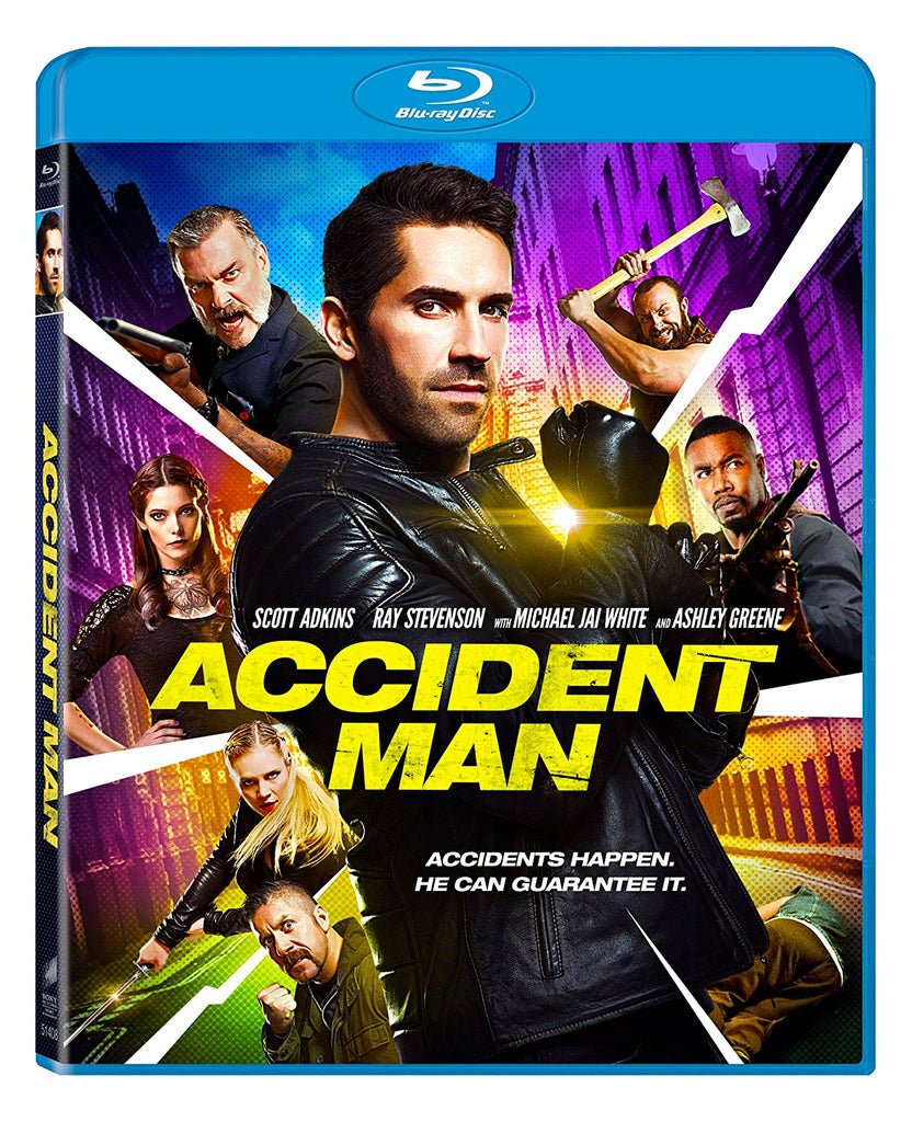 Accident Man (2018) (Blu Ray) (English Subtitled) (US Version) - Neo Film Shop